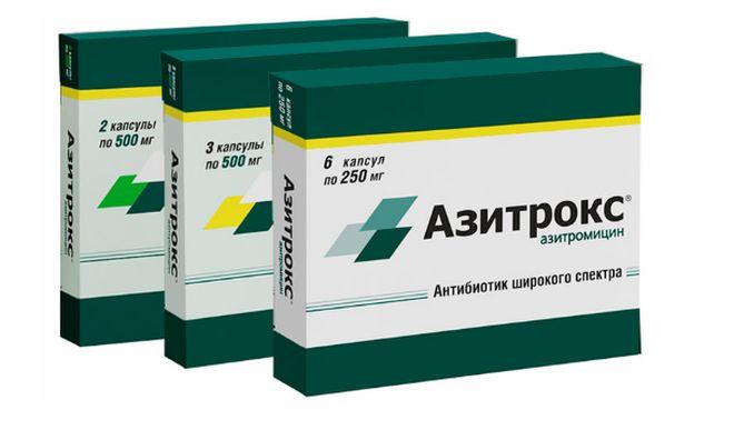 Препарат Азитрокс