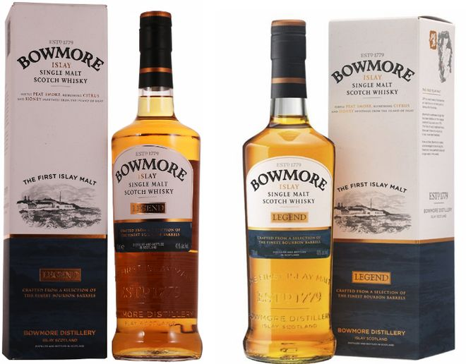 Торфяной виски из Шотландии Bowmore
