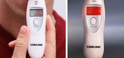 Цифровой алкотестер Carline