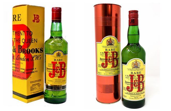 Купажированный виски J&B