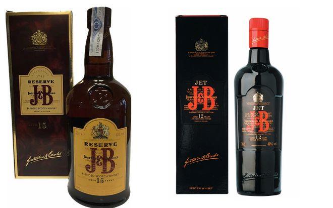 Шотландский виски J&B