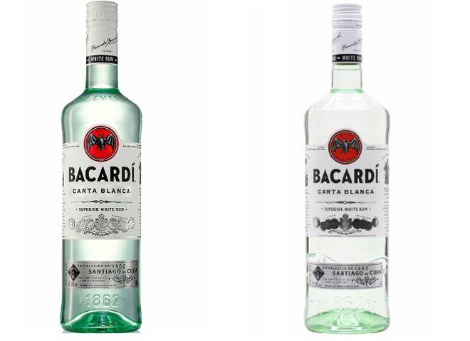 Ром Бакарди в бутылках