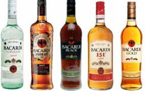 Бутылки со спиртными напитками