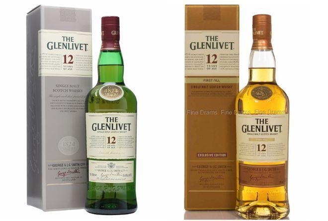 12-летний виски Glenlivet