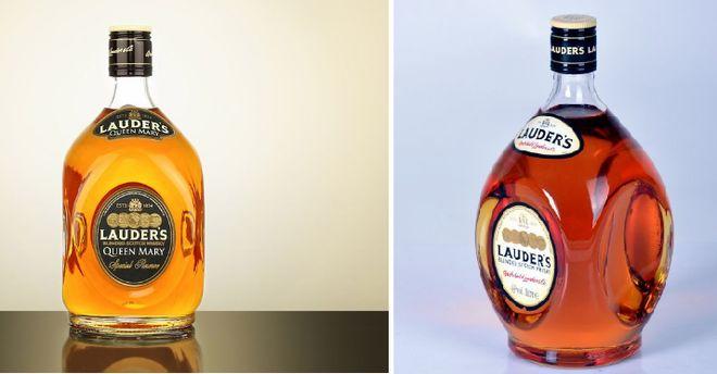Две бутылки виски