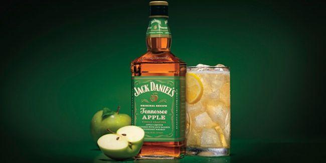Jack Daniel's и яблоки