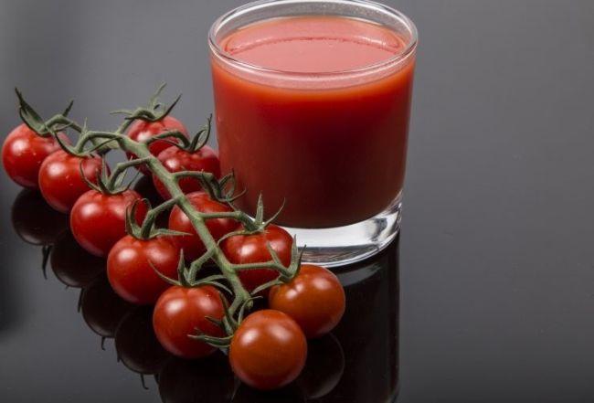 Сок из томатов черри