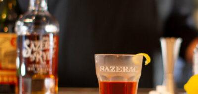 Коктейль с бурбоном Sazerac