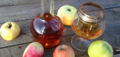 Кальвадос и яблоки