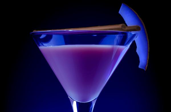Фиолетовый геккон