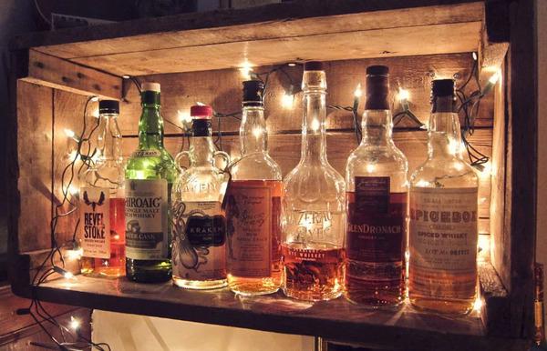 Полка для виски