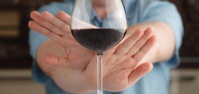 Отказ от красного вина