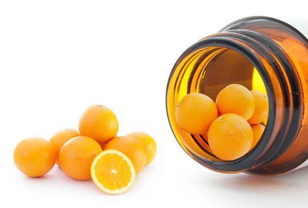 Цитрусы, источники витамина С