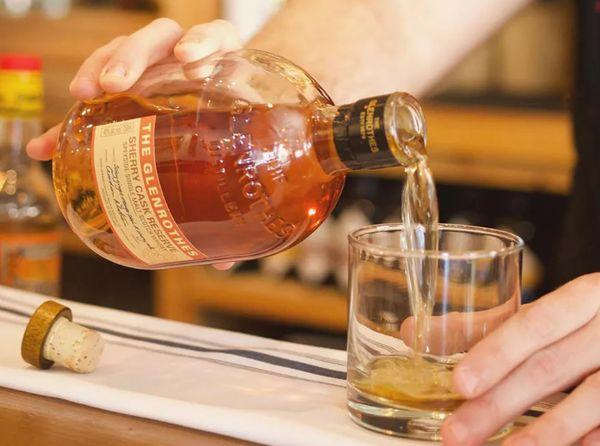 Цвет и консистенция виски