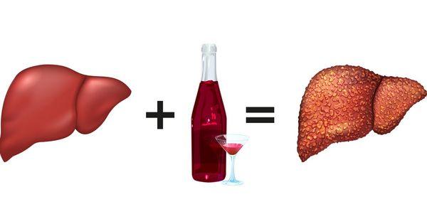 Токсический эффект от алкоголя