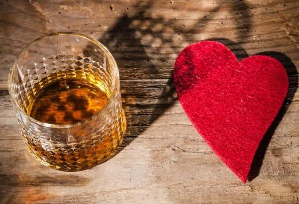 Алкогольный напиток и сердце
