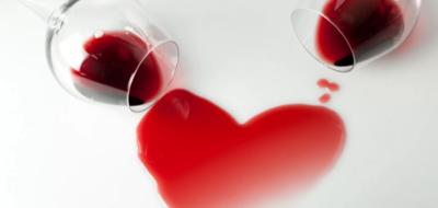 Красное вино и сердце