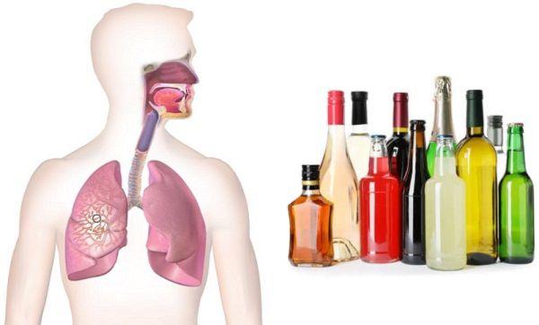 Бронхиальная астма и спиртное