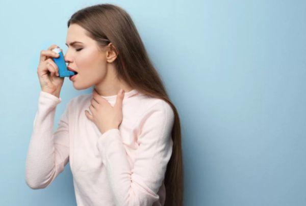 Бронхиальная астма у девушки